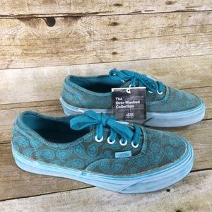 Women's Vans The Over-Washed Collection Size 6.5
